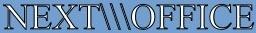 Logo und Text auf farbigem Hintergrund