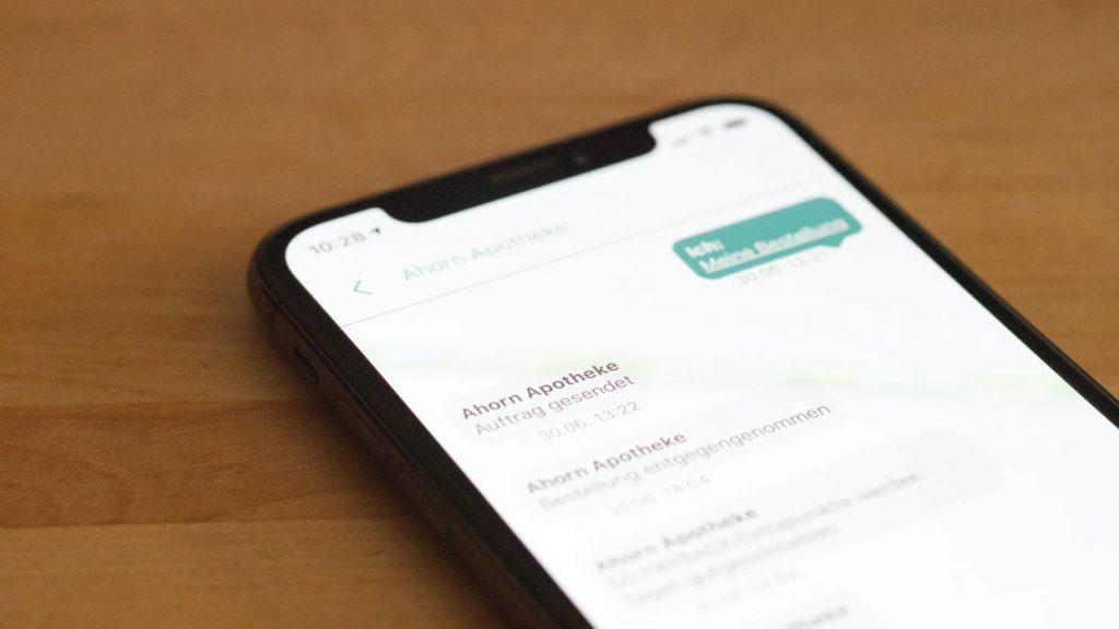 Screenshot der Apotheken App